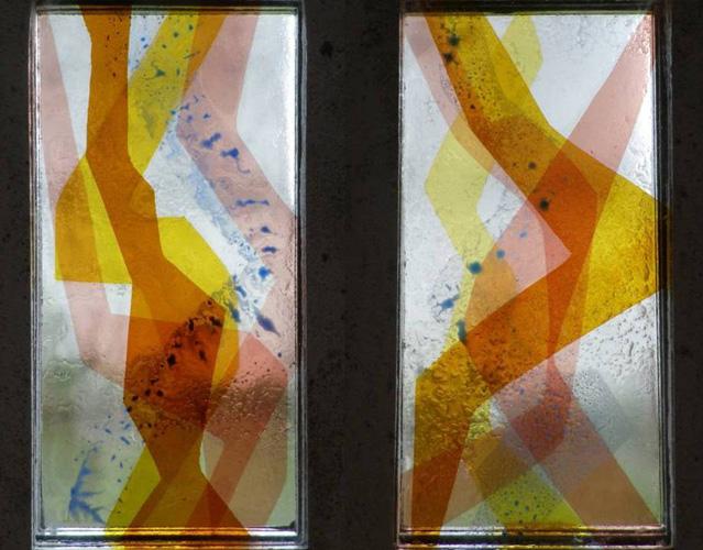 Dalle de verre sous béton, Belle andalouse, 2014