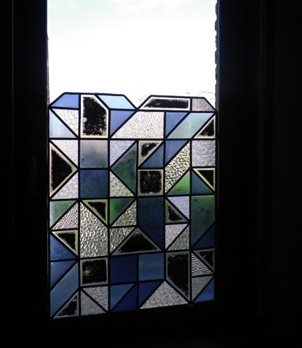 Fenêtre sur palier.